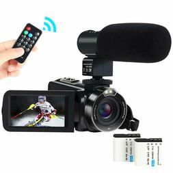 Video Camera Camcorder,ACTITOP 1080P FHD Camcorder 24.0MP 16