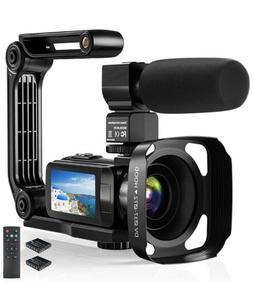 Video Camera Camcorder, 2.7K Ultra HD YouTube Vlogging Camer