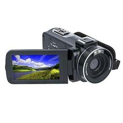 Video Camera Camcorder HD 1080P 24.0MP 3.0 Inch LCD 270 Degr