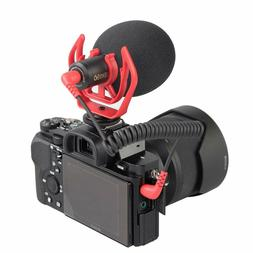 Video Camera Microphone with Wind Sheild & Shock Mount for N