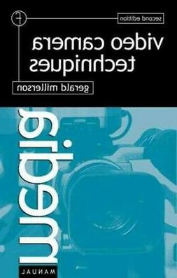 Video Camera Techniques, Paperback by Millerson, Gerald, Lik