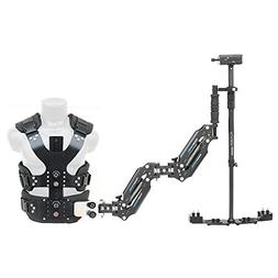 FLYCAM Vista Arm & Vest with Redking Video DSLR camera Stead