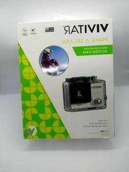 Vivitar DVR781HD-SIL 5.1 MP HD Action Camcorder