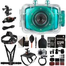Vivitar DVR781HD 720p HD Waterproof Action Video Camera Camc
