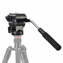 Meco VT-1510 Tripod Action Fluid Drag Head Video Camera