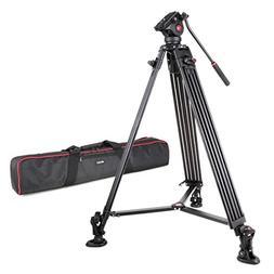 VILTROX VX-18M Professional Heavy Duty Video Camcorder Tripo