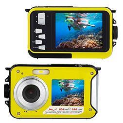 Waterproof Digital Camera FHD 1080P Underwater Camera 24.0MP