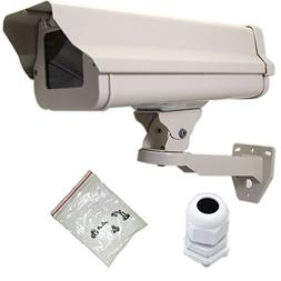 VENTECH Outdoor Weatherproof Heavy Duty Aluminum CCTV housin