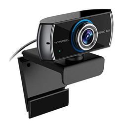 Full HD Live Streaming Camera , JIFFY 1080P Webcam ,Widescre