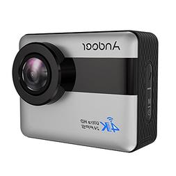 Andoer 4K WiFi Action Camera 2.31-inch Full HD LCD Touchscre