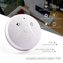 WiFi Spy Hidden Camera Smoke Detector HD 1080P Wireless Secu