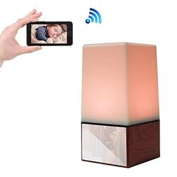 Poetele 1080P Wifi LED Night Light Spy Hidden Camera HD Nann