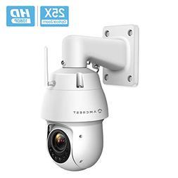 Amcrest 1080P WiFi Outdoor PTZ PoE+ IP Camera Pan Tilt Zoom