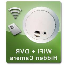 PalmVID WiFi Smoke Detector Hidden Camera Spy Camera with Li