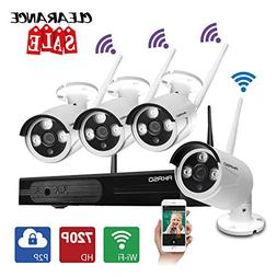 AKASO Wireless Security Camera System Video Surveillance CCT