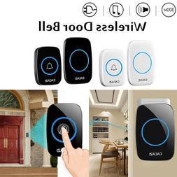Wifi Wireless Smart Doorbell Video Camera HD 720P 2 Way Talk