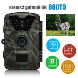 Wildlife Trail Photo Trap Hunting Camera 12MP 1080P 940NM Vi