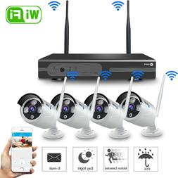 SmartSF 8CH Wireless 1080P NVR Outdoor Home WIFI Camera CCTV
