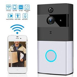 Ustyle Wireless Video Doorbell Wi-Fi Enabled, Smart Home Doo