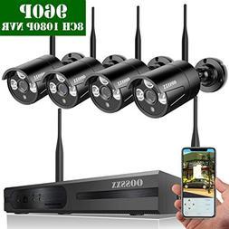 OOSSXX OSX-WK960402 8-Channel HD 1080P Wireless Network/IP S