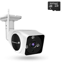 Luowice WiFi Camera Outdoor Wireless Security Camera with In