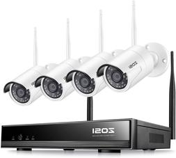 Zosi Wireless Security Cameras System H.265+ 8Channel 1080P