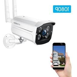 FREDI Wireless Security Camera System,1080p WiFi Wireless IP