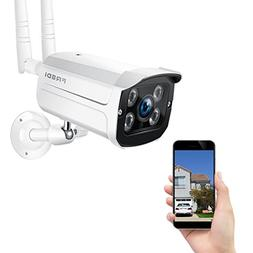 FREDI Wireless Security Camera,720p WiFi Wireless IP Bullet