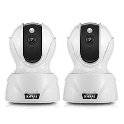 SANNCE 2-Pack Wireless 1080P HD Smart Home WiFi IP Security