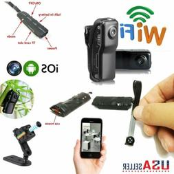 Wireless Nanny Cam IP Pinhole DIY Digital Video Camera Mini