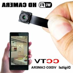 Wireless Spy Nanny Cam Mini Micro Dvr WIFI IP Pinhole DIY Di