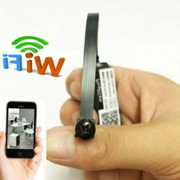 Wireless Tiny IP WIFI Mini DIY Pinhole Hidden Audio Video Ca