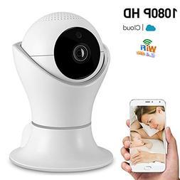 1080P Wireless Home Security IP Camera 360° Wifi Indoor Vid