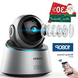FREDI 1080p Wireless Camera HD WiFi IP Camera for Baby/Elder