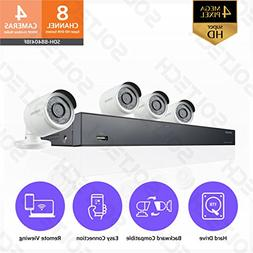 Samsung Wisenet SDH-B84041BF 8 Channel 4MP Super HD DVR Vide