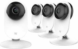 Yi Home Camera 4Pcs Wireless Ip Security Surveillance System
