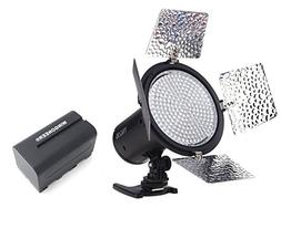 Yongnuo YN-216 YN216 Pro LED Video Light 5500K Color Tempera