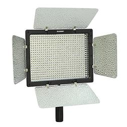 YONGNUO YN-600, 3200K - 5500K Color Temperature LED Video Li