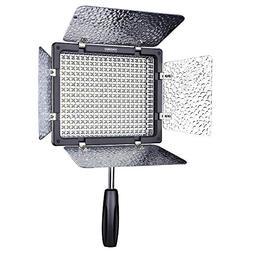 YN300 Bi-color Temperature 3200K-5500K CRI95 Pro LED Video f