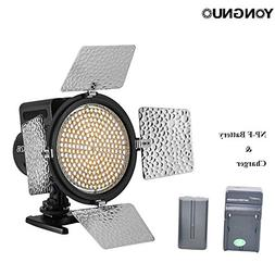 Yongnuo YN216 LED Video Light Continous Photo Panel with Adj