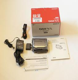 Canon ZR500 miniDV Digital Video Handheld Camcorder video ca